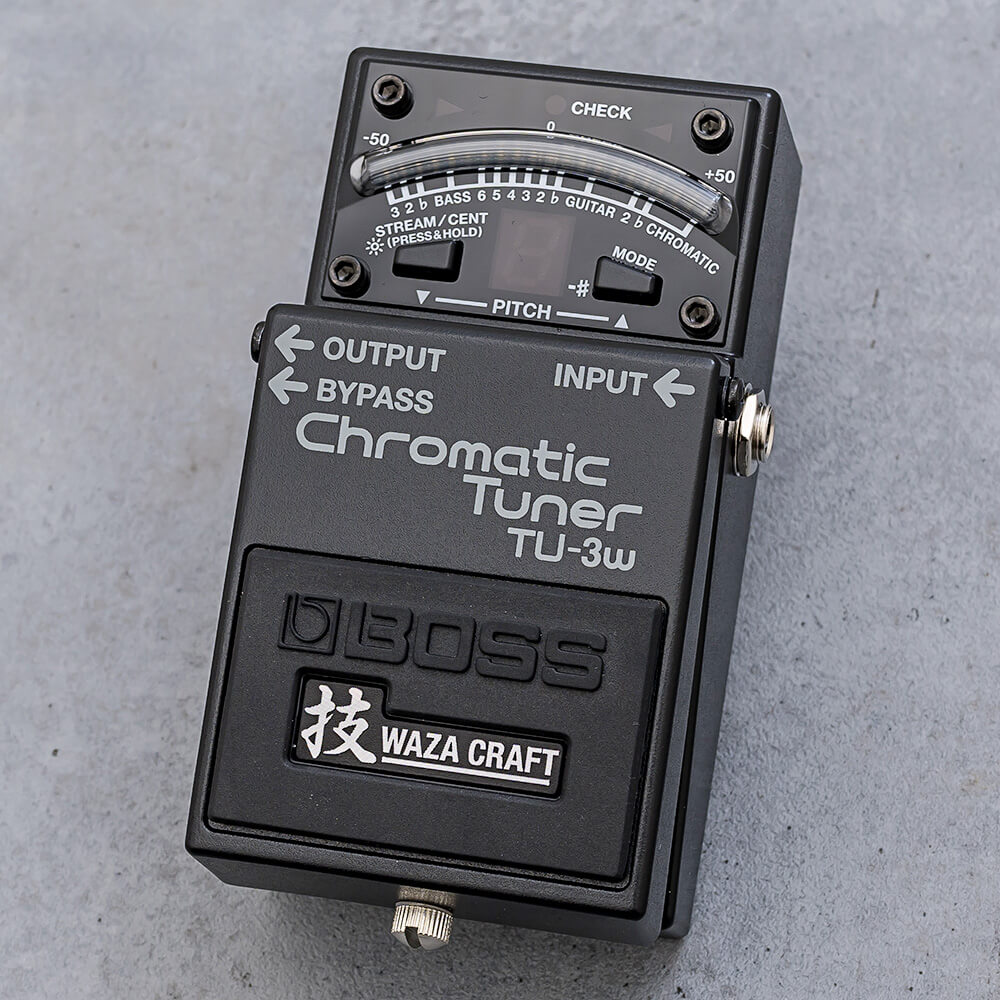 BOSS  <br>TU-3W Chromatic Tuner