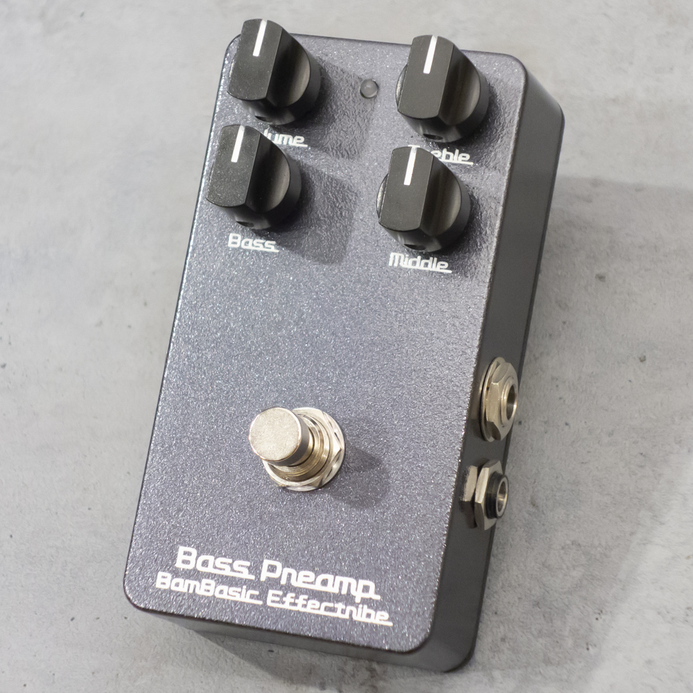BamBasic Effectribe <br>Bass Preamp ( Preamp + Equalizer)