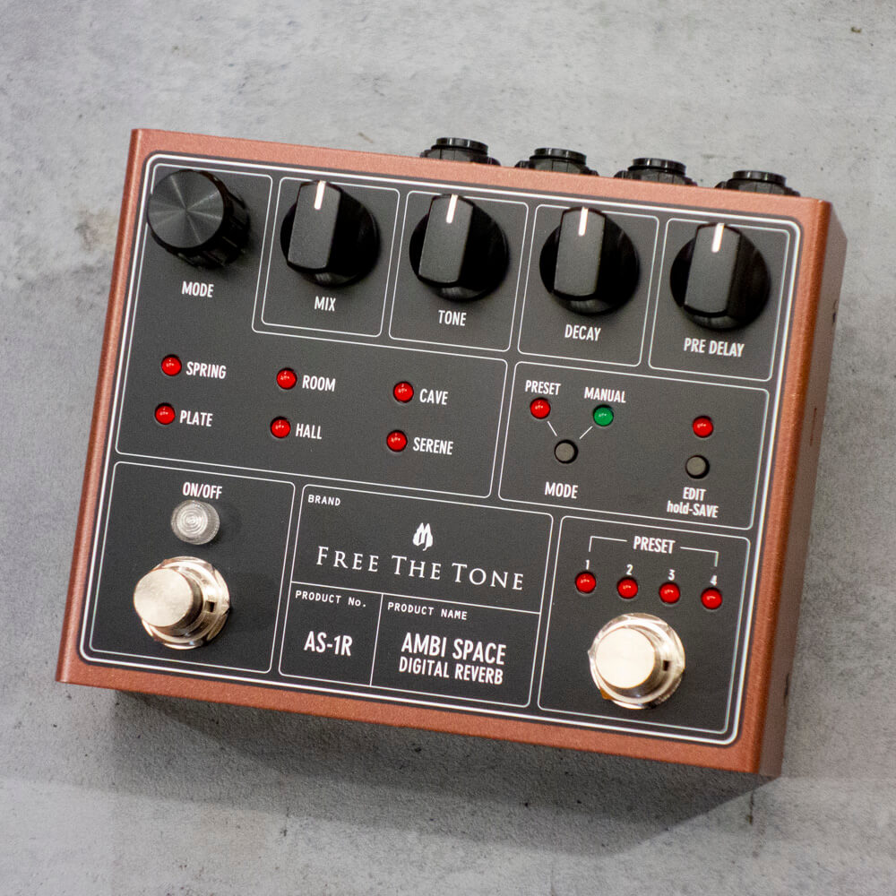Free The Tone <br>AS-1R/AMBI SPACE DIGITAL REVERB