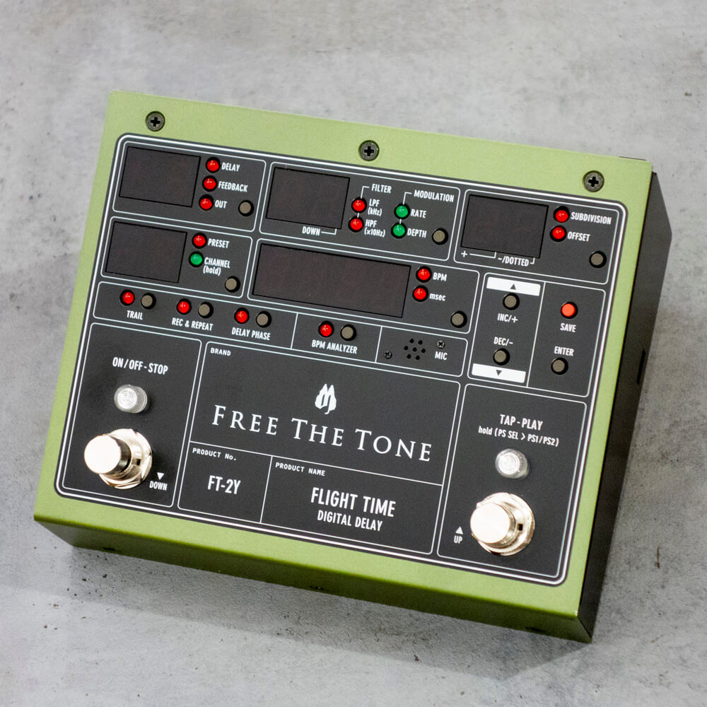 Free The Tone <br>FLIGHT TIME FT-2Y