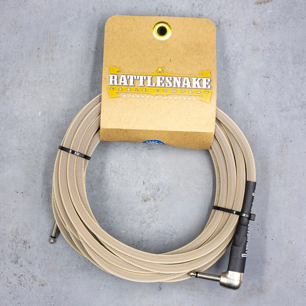 Rattlesnake Cable <br>Standard Dirty Tweed 6m SL
