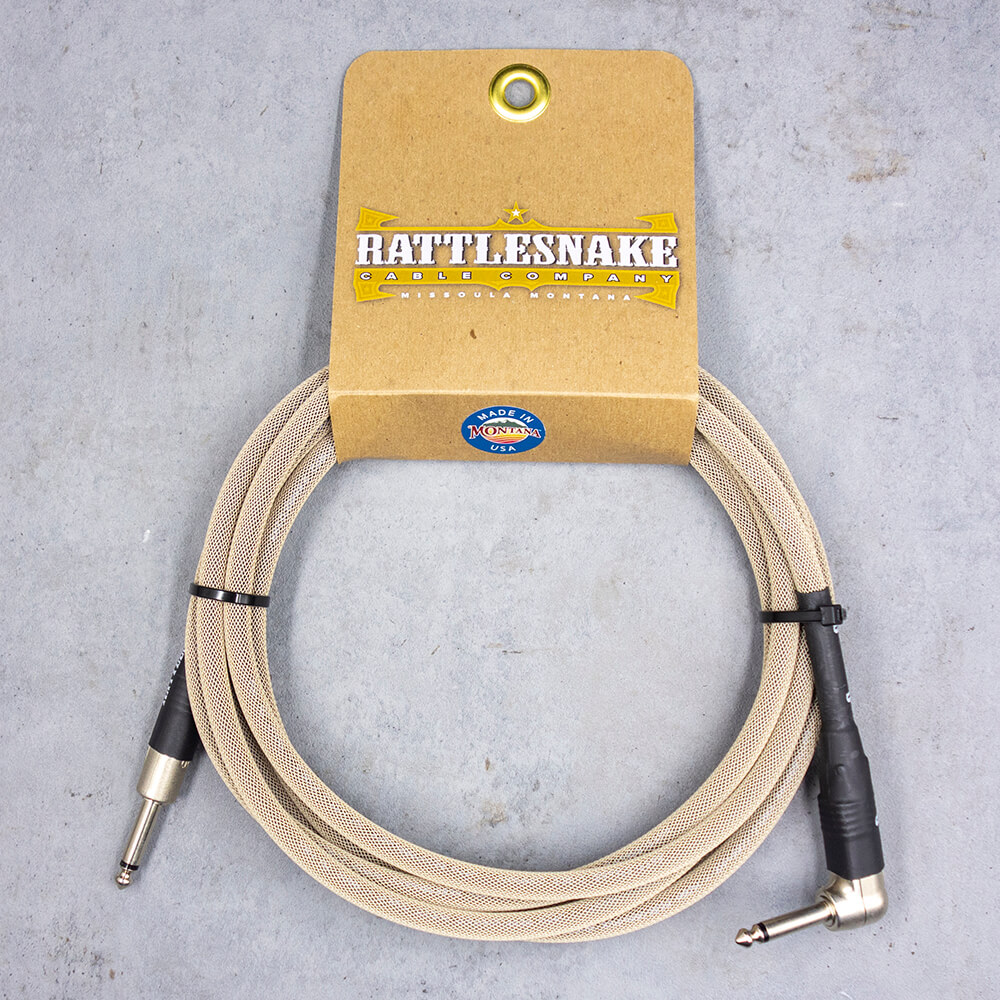 Rattlesnake Cable <br>Standard Dirty Tweed 3m SL