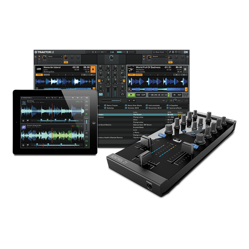 NATIVE INSTRUMENTS <br>TRAKTOR KONTROL Z1