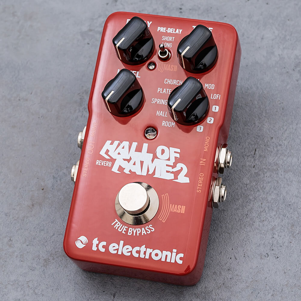 tc electronic<br>HALL OF FAME 2 REVERB