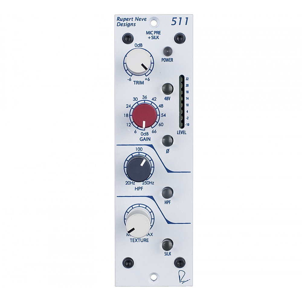 RUPERT NEVE DESIGNS <br>511 [Mic Pre with Texture] ■店頭デモ試聴実施中