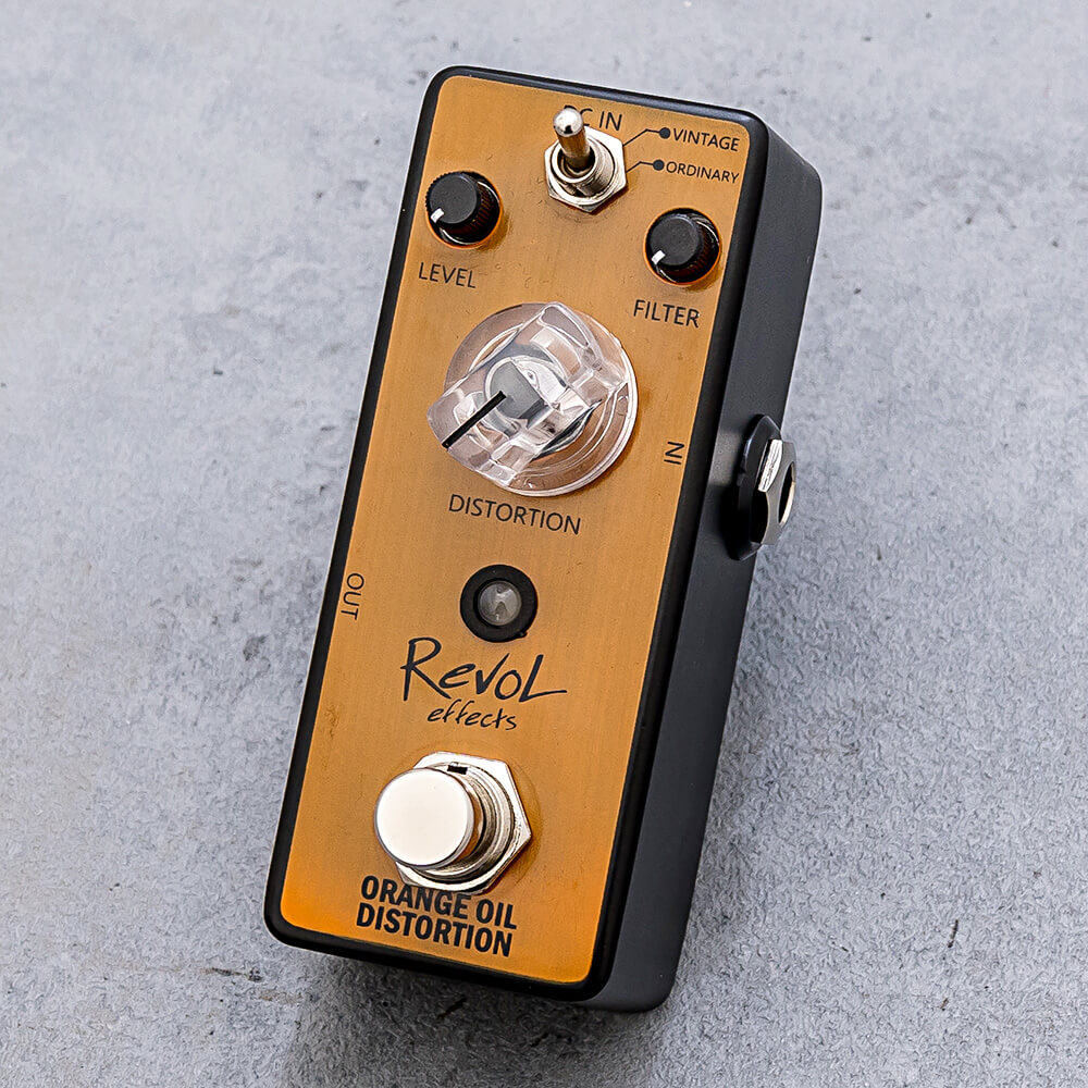 RevoL effects <br>ORANGE OIL DISTORTION EDS-01
