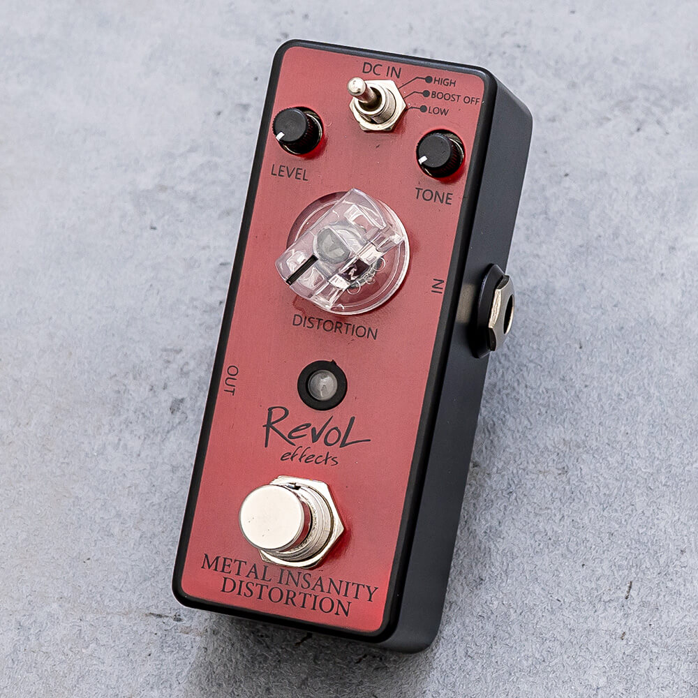 RevoL effects <br>METAL INSANITY DISTORTION EMD-01