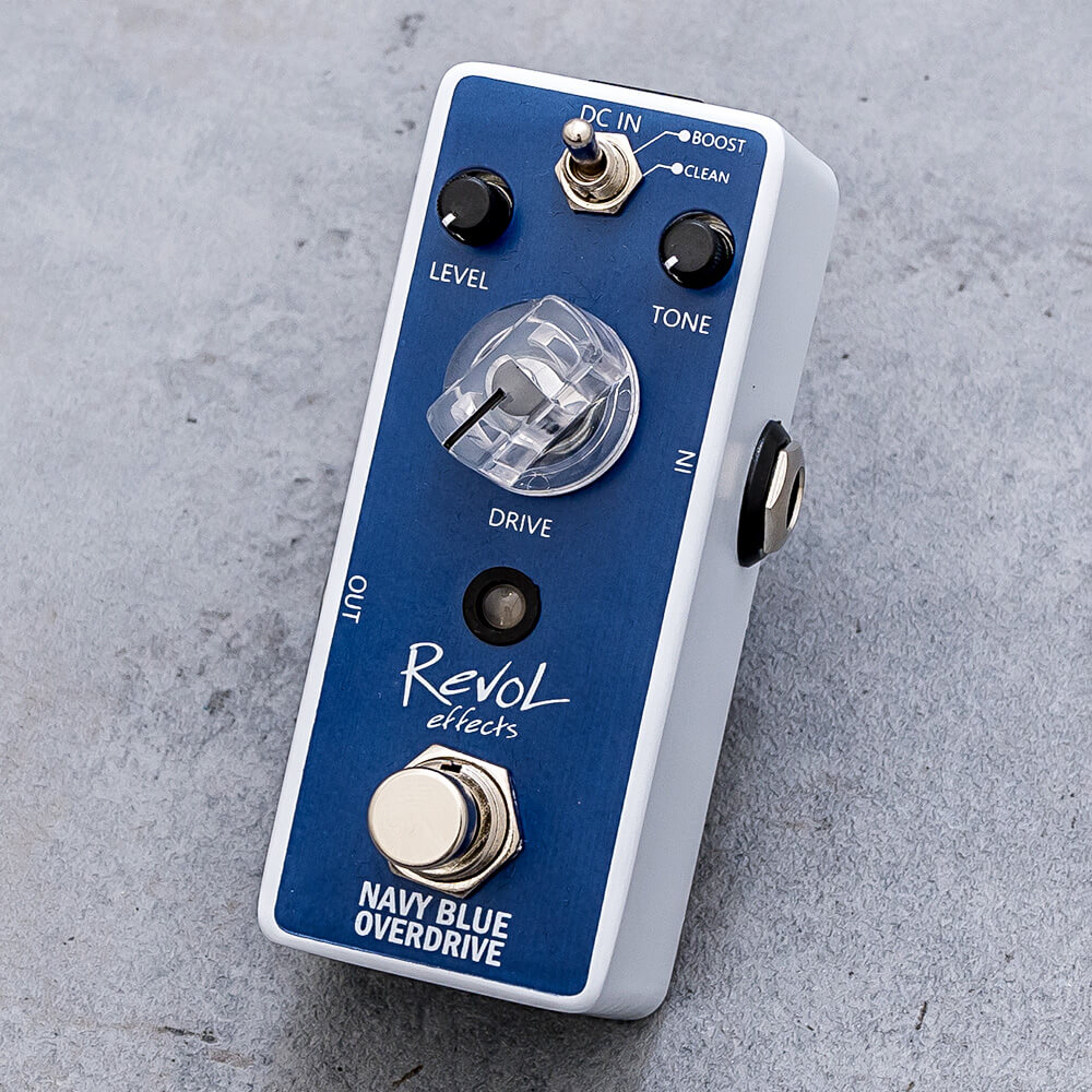 RevoL effects <br>NAVY BLUE OVERDRIVE EOD-01