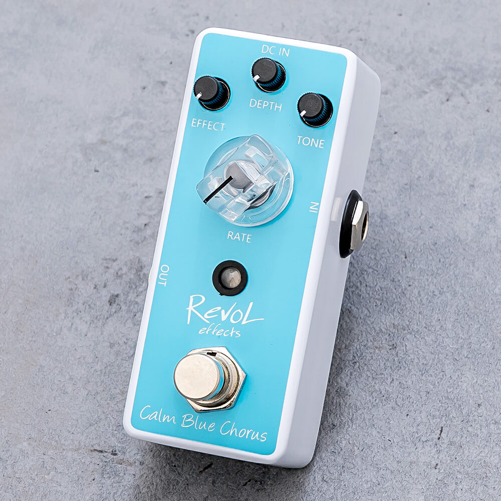 RevoL effects <br>Calm Blue Chorus ECO-01