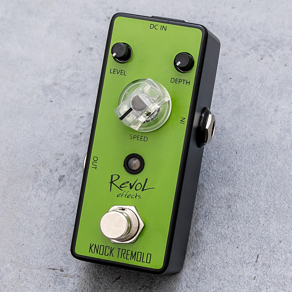 RevoL effects <br>KNOCK TREMOLO ETR-01