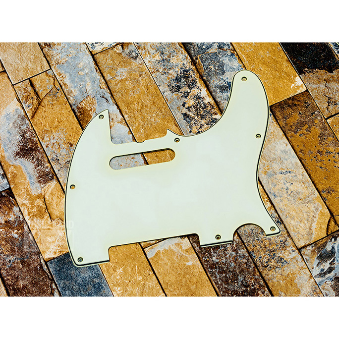 KEY'STONE <br>Pure Celluloid Pickguard Type TL/Medium Aged