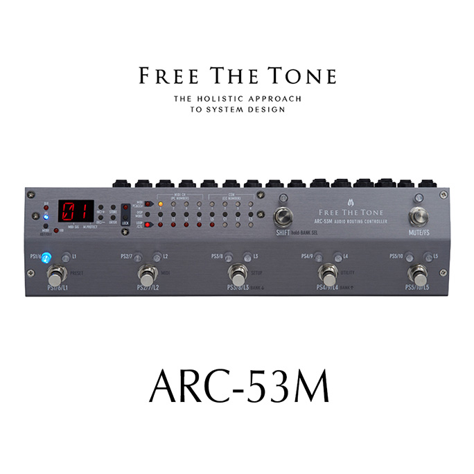 Free The Tone <br>ARC-53M(S) Audio Routing Controller