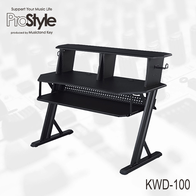 Pro Style <br>KWD-100 BK Home Recording Table