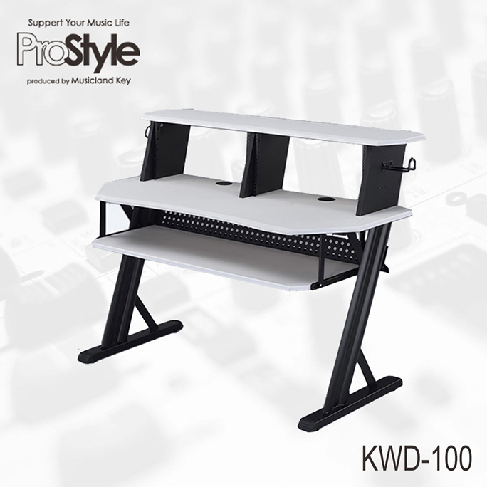 Pro Style <br>KWD-100 WH Home Recording Table