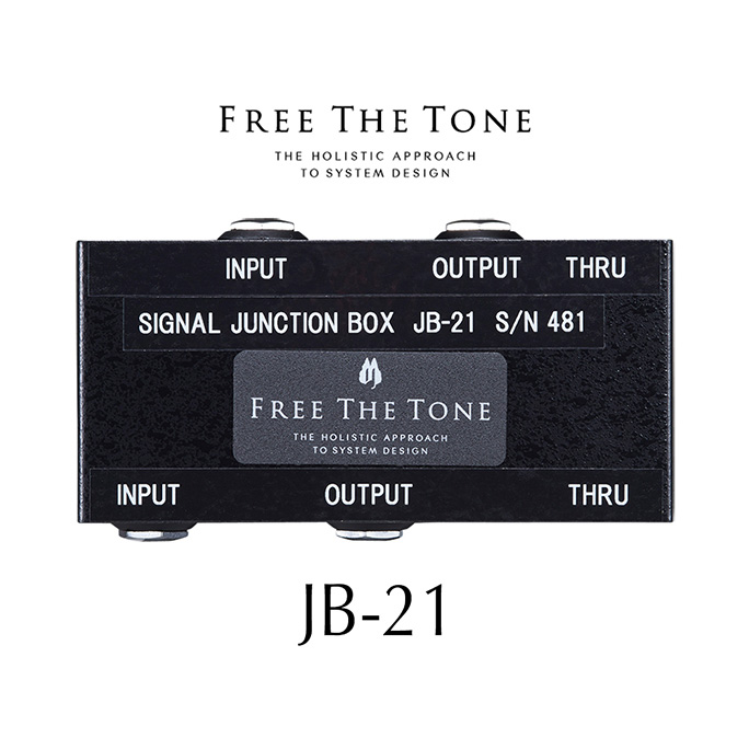Free The Tone <br>JB-21 Signal Junction Box