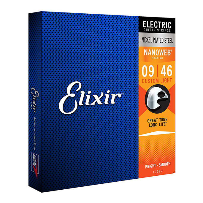 Elixir <br>NANOWEB #12027 Custom Light 09-46