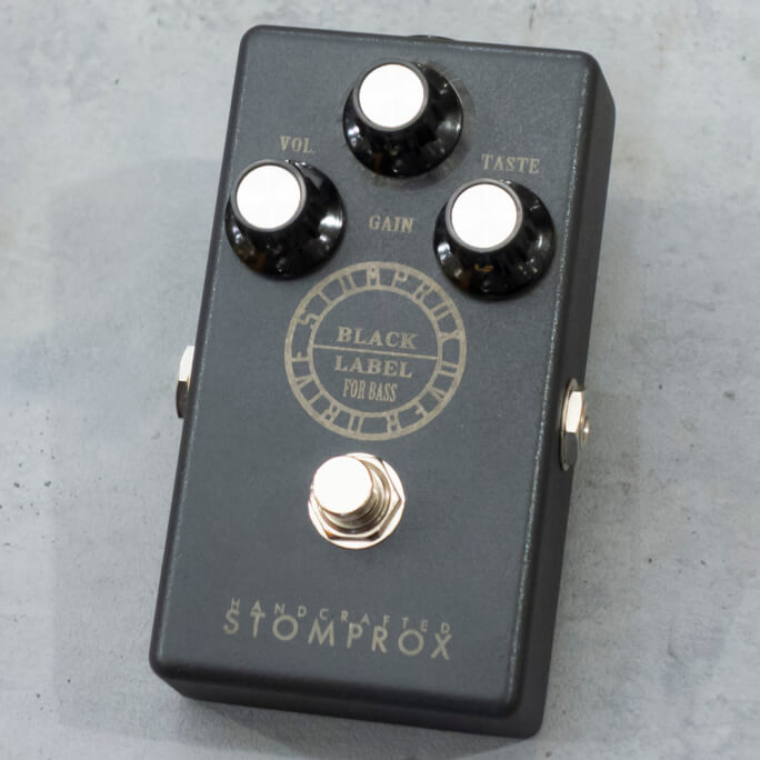 STOMPROX <br>OVER DRIVE -BLACK LABEL- FOR BASS