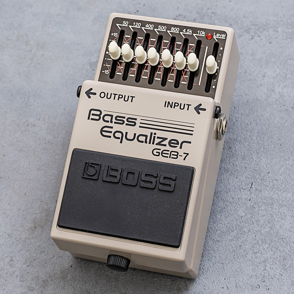 BOSS <br>GEB-7 Bass Equalizer