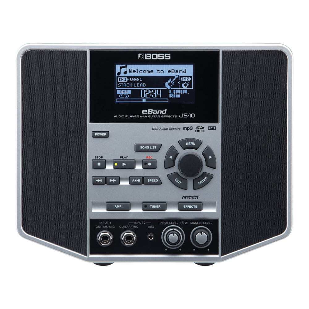 BOSS <br>JS-10 eBand AUDIO PLAYER with GUITAR EFFECTS