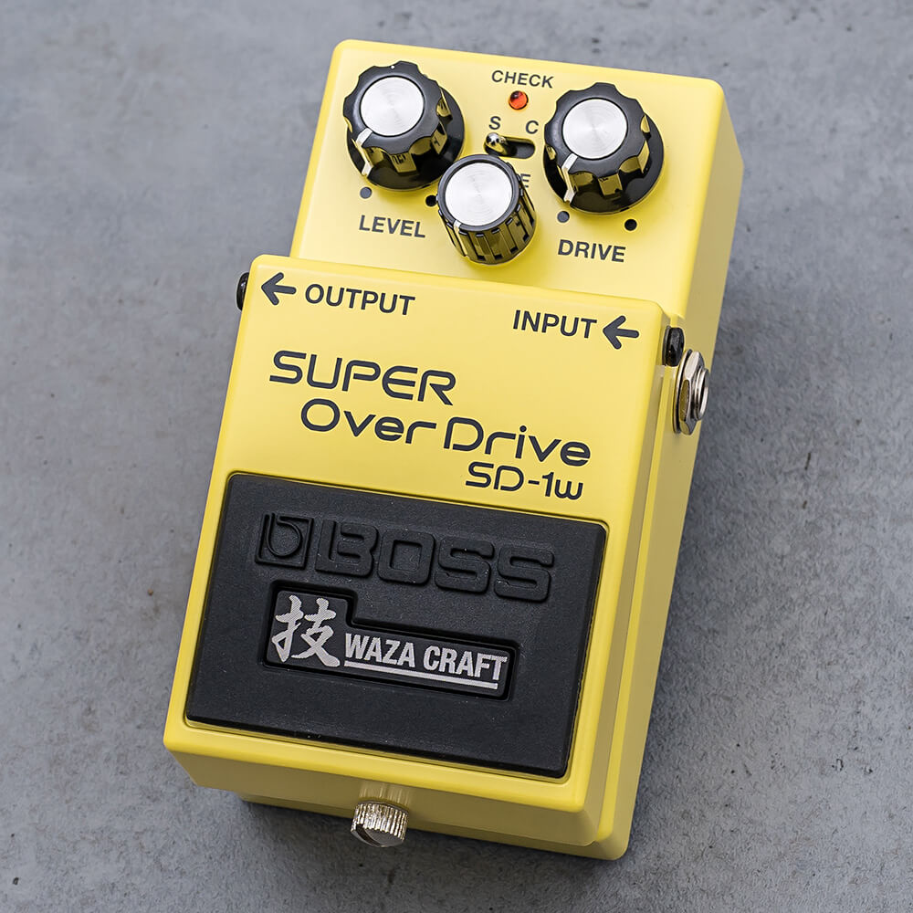 BOSS <br>SD-1W SUPER OverDrive