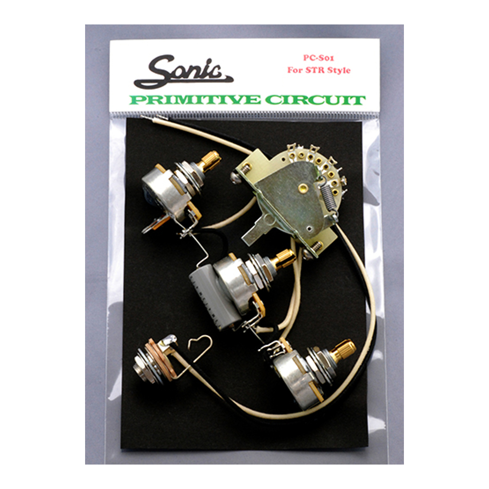 Sonic <br>Primitive Circuits for STR style PC-S01