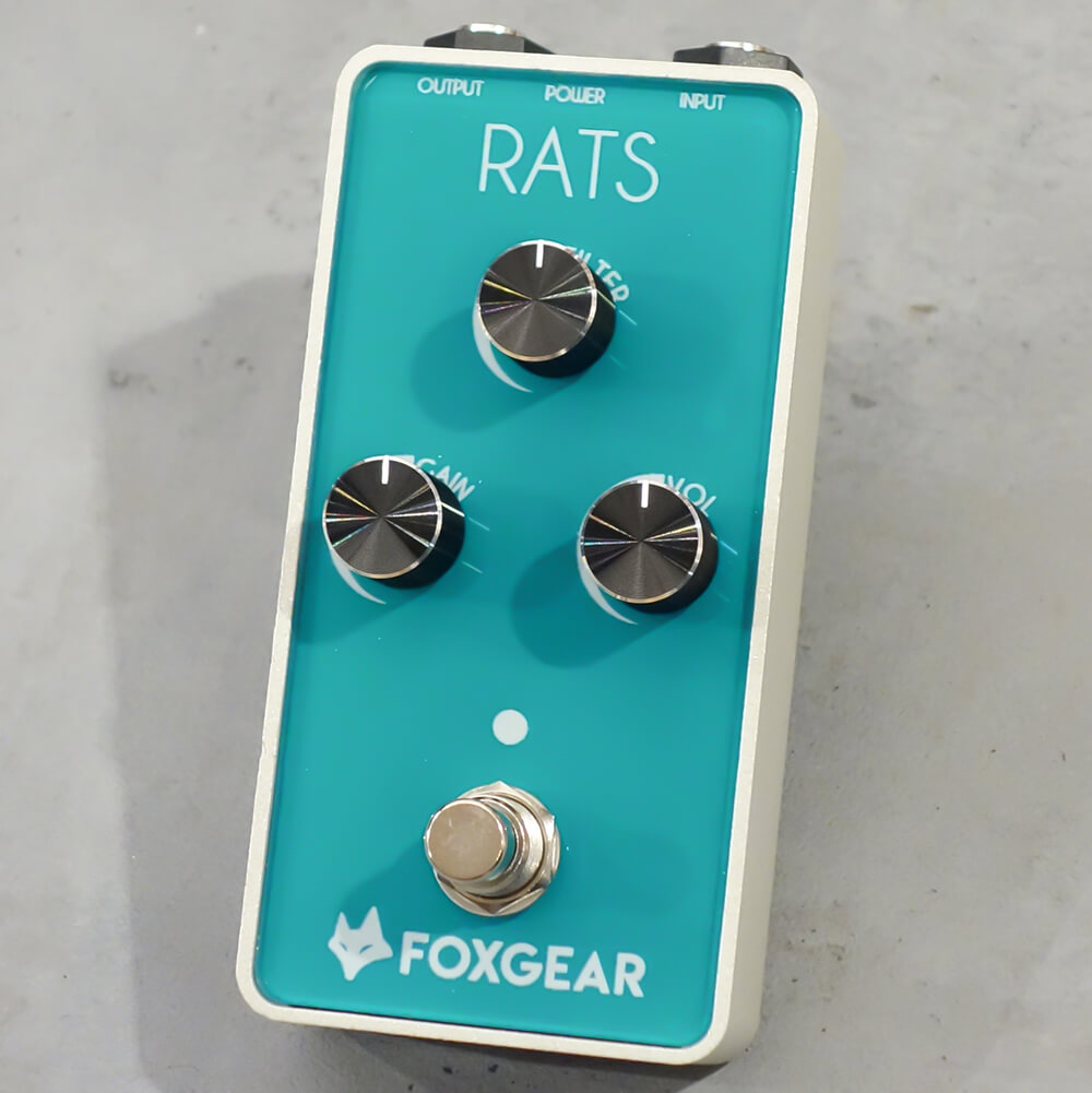 FOXGEAR <br>Rats  [OD/Distortion]
