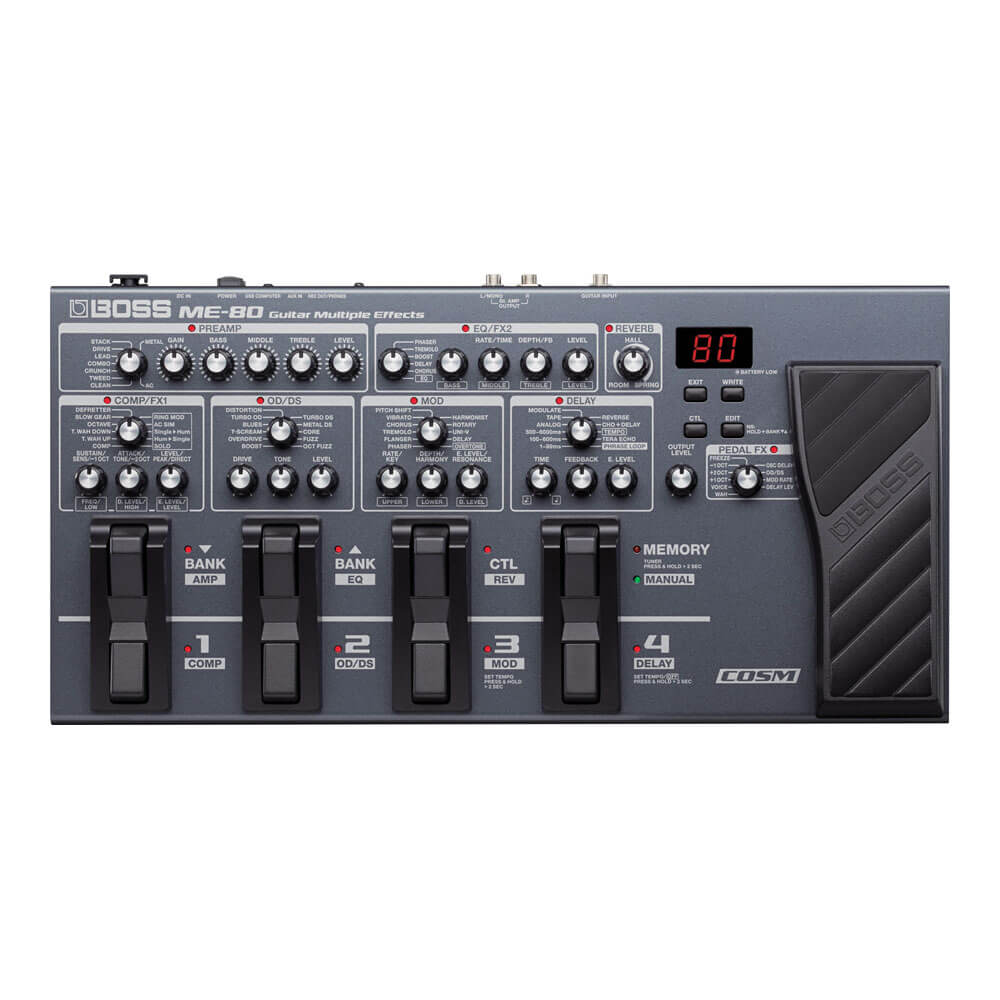 BOSS <br>ME-80 Guitar Multiple Effects