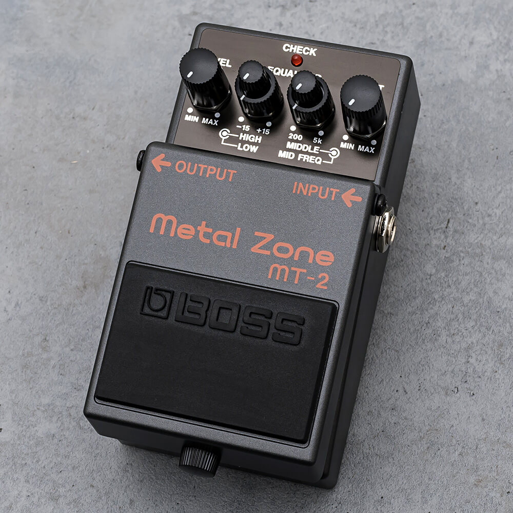 BOSS <br>MT-2 Metal Zone
