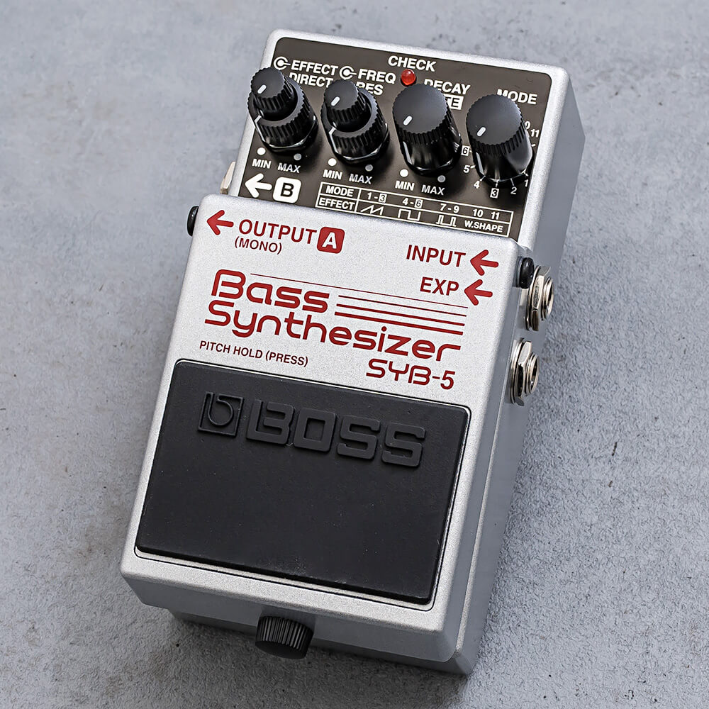BOSS <br>SYB-5 Bass Synthesizer