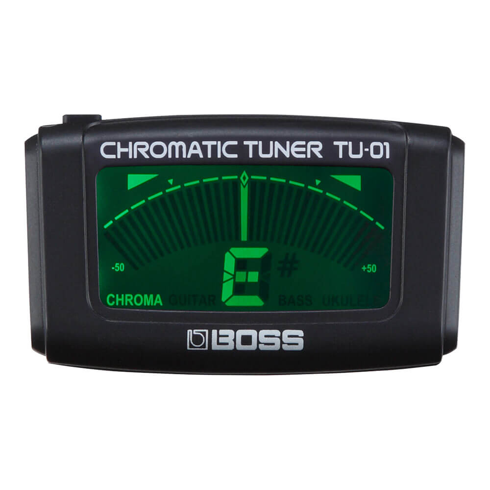 BOSS <br>TU-01 Clip-on Chromatic Tuner