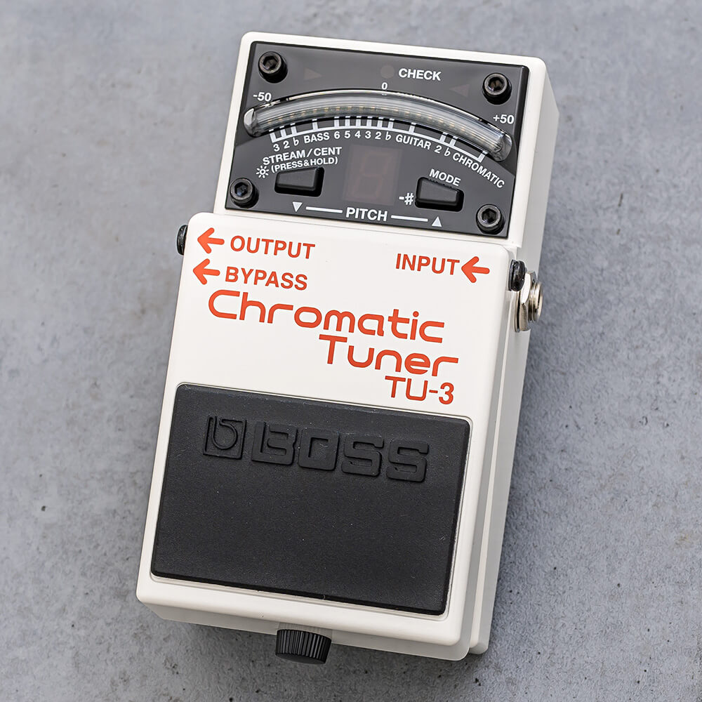 BOSS <br>TU-3 Chromatic Tuner
