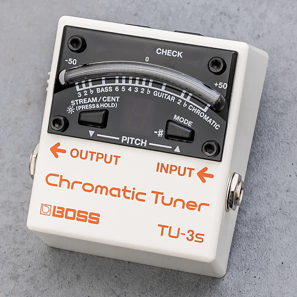BOSS <br>TU-3S Chromatic Tuner