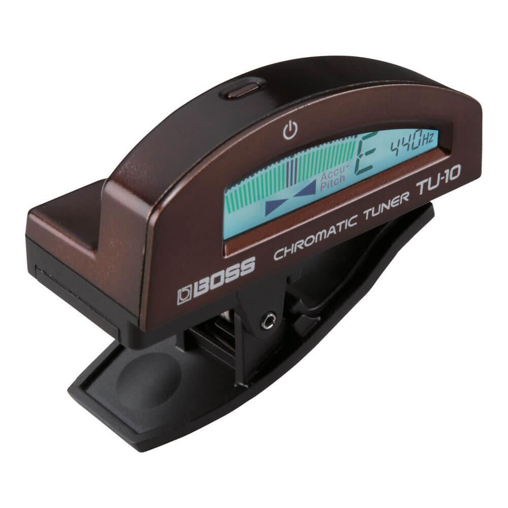 BOSS <br>TU-10-BN Clip-on Chromatic Tuner