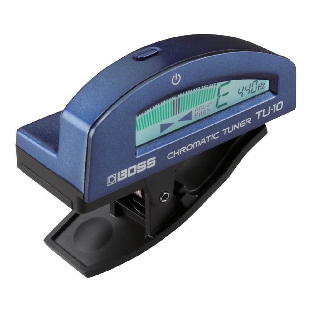 BOSS <br>TU-10-BU Clip-on Chromatic Tuner