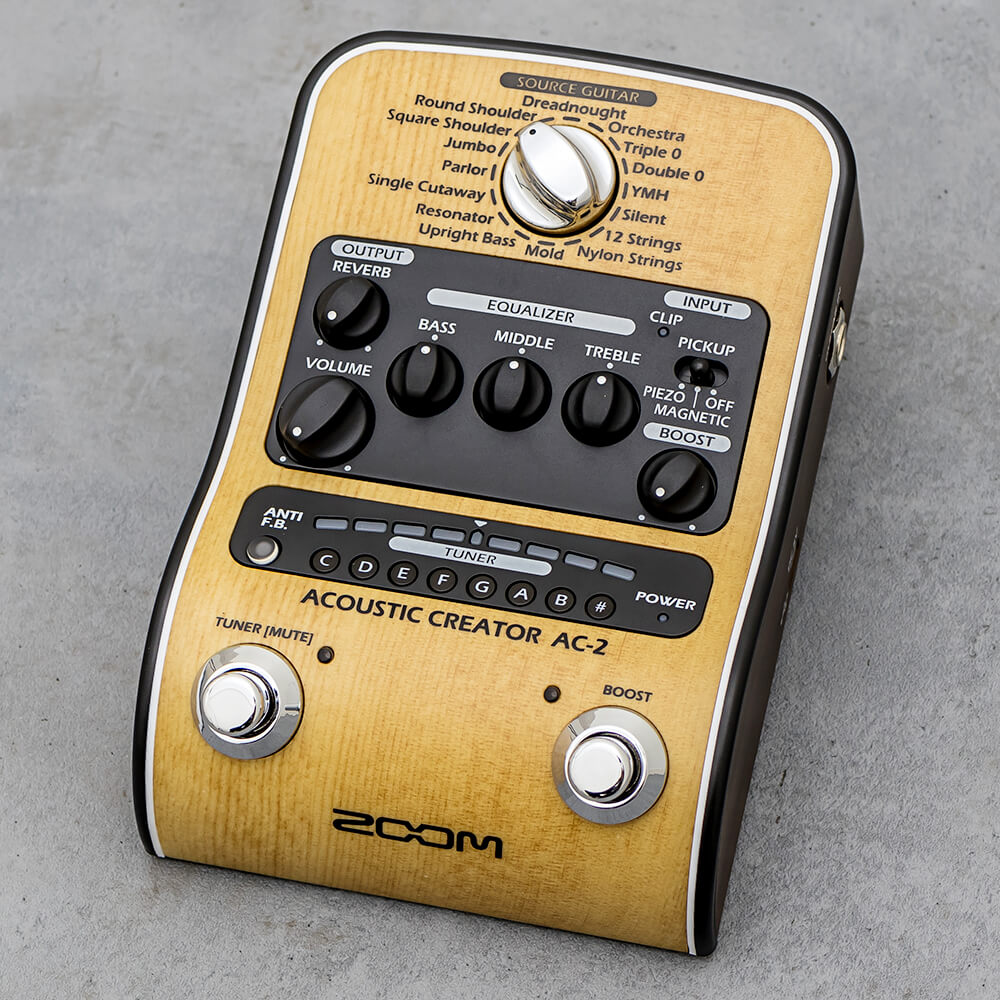 ZOOM <br>AC-2 Acoustic Creator
