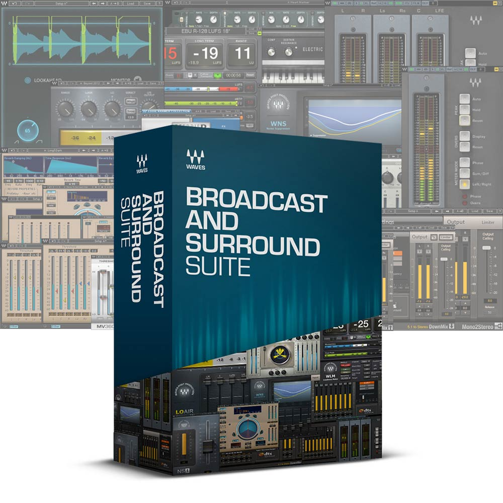 WAVES <br>Broadcast and Surround Suite