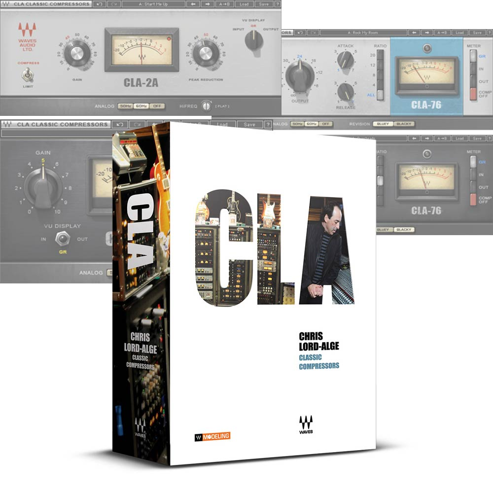 WAVES <br>CLA Classic Compressors