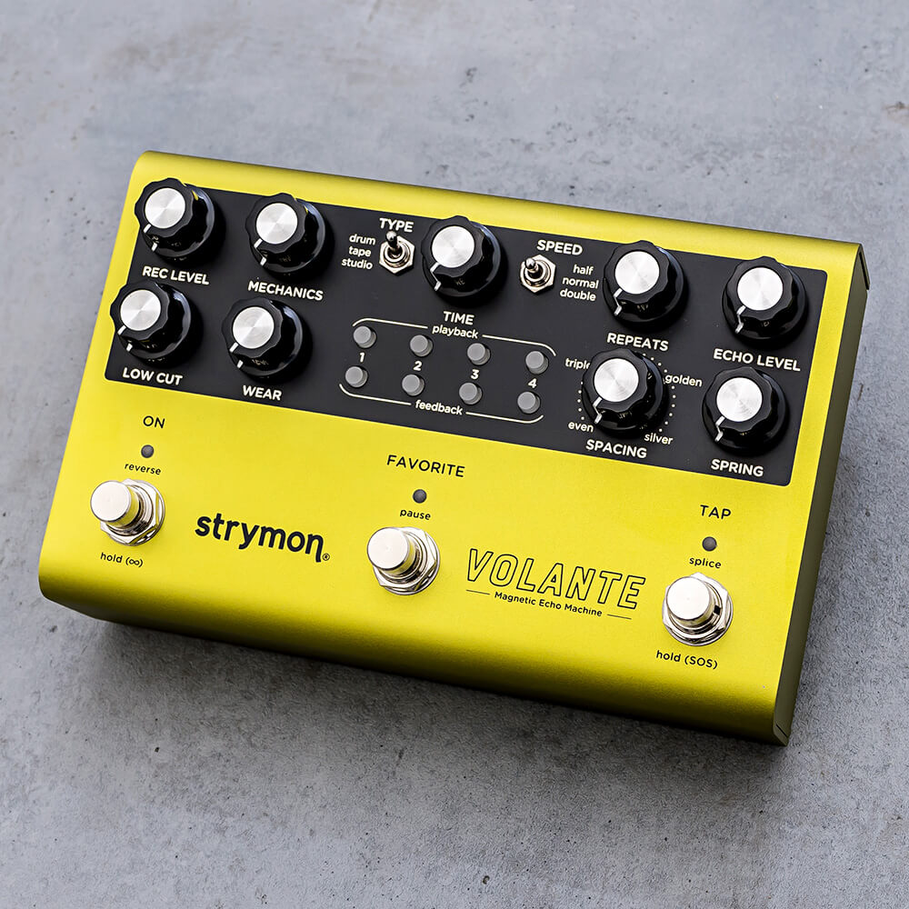 strymon <br>VOLANTE Magnetic Echo Machine