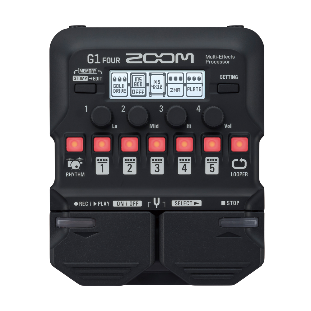 ZOOM <br>G1 FOUR