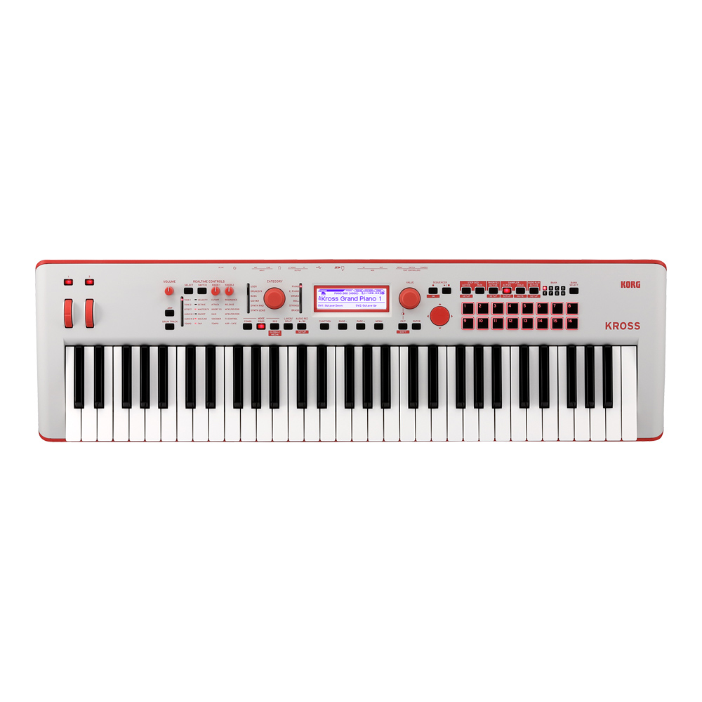 KORG <br>KROSS Special Edition Gray-Red