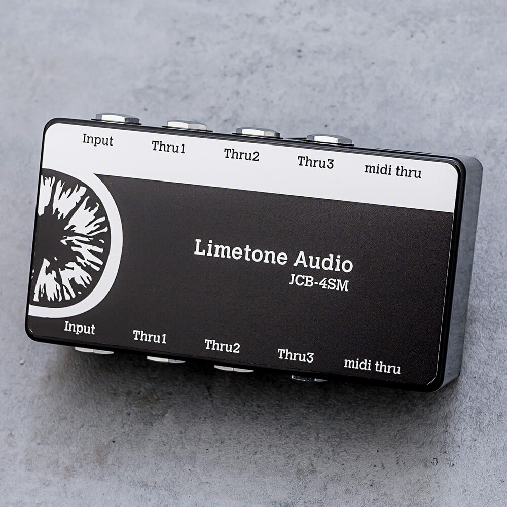 Limetone Audio <br>JCB-4SM Black