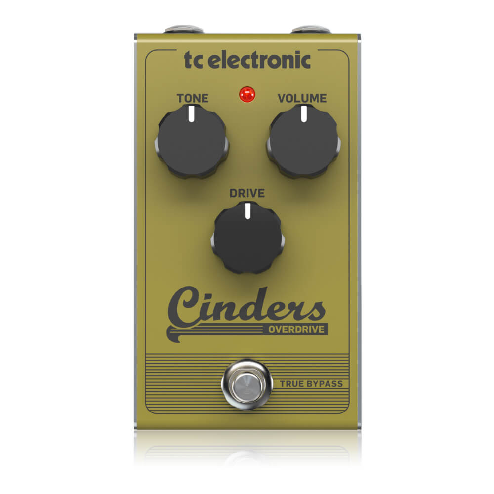 tc electronic <br>CINDERS OVERDRIVE