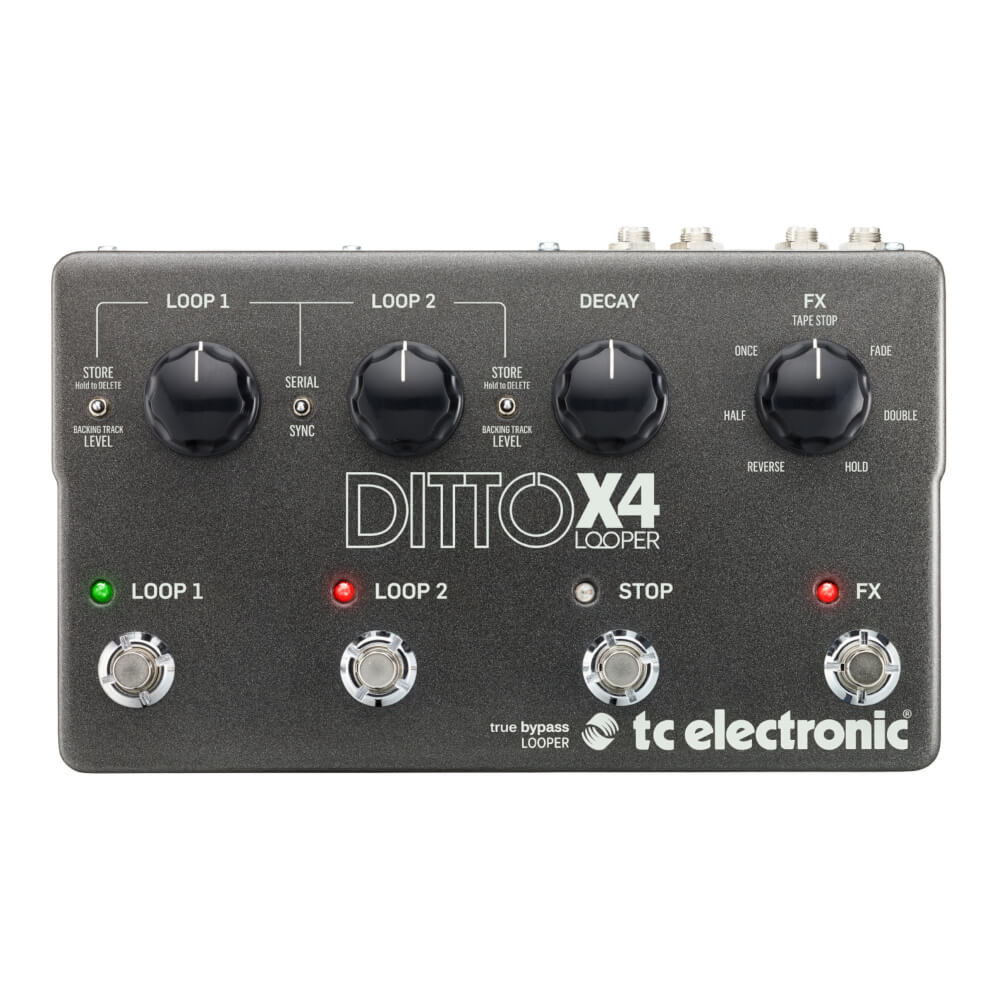 tc electronic<br>DITTO X4 LOOPER