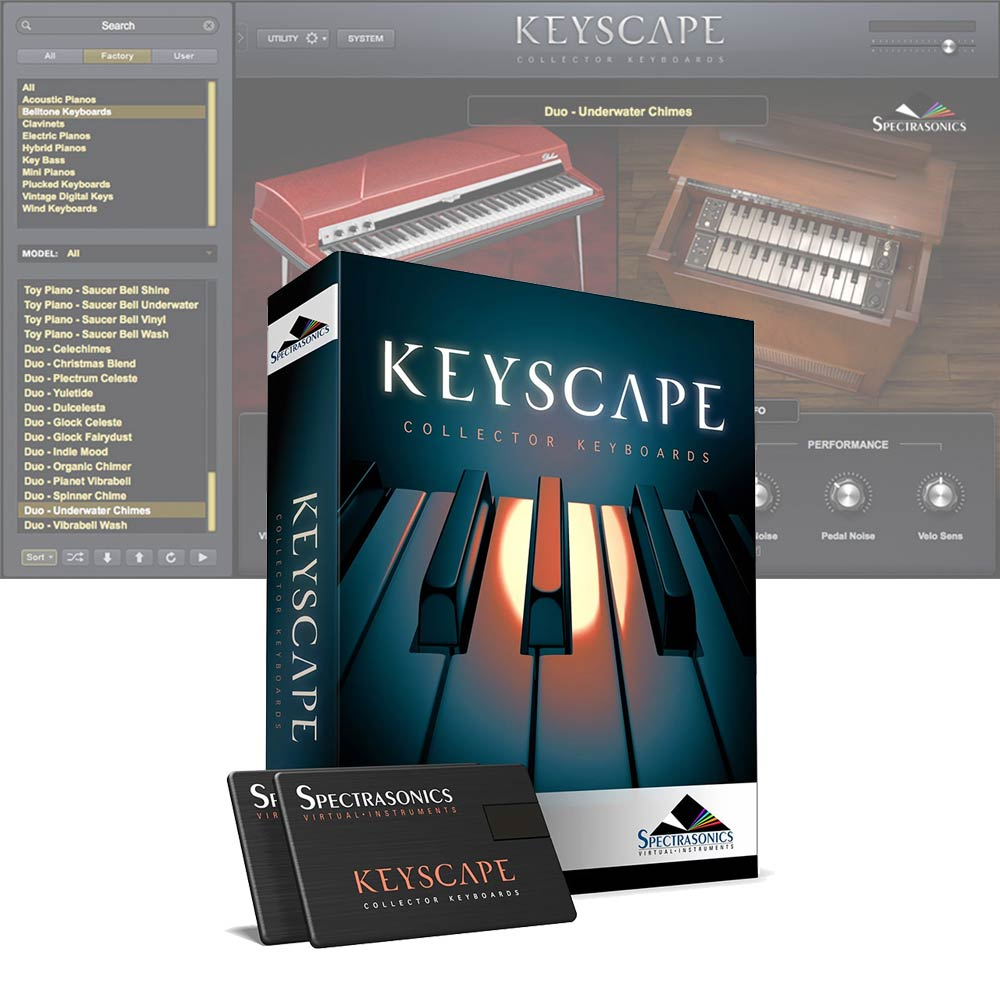 Spectrasonics <br>Keyscape (USB Drive)