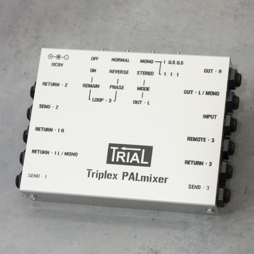 TRIAL <br>Triplex PALmixier stereo