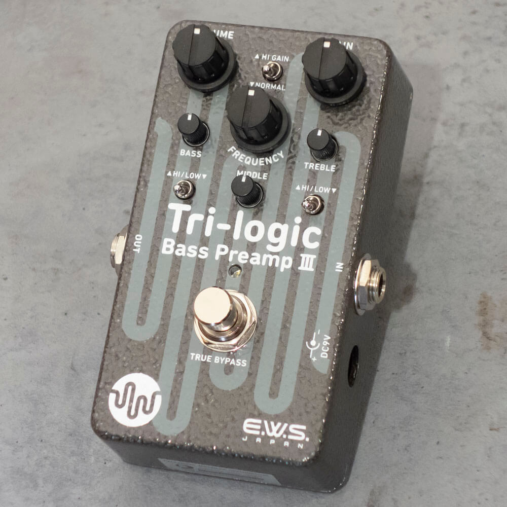 E.W.S. <br>Tri-logic Bass Preamp 3