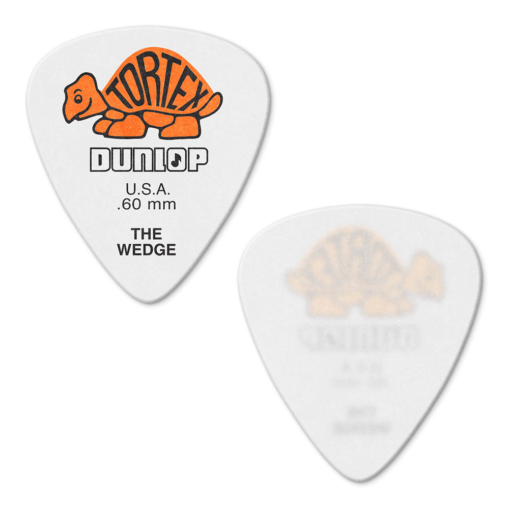 Jim Dunlop <br>424 Tortex Wedge 0.60mm - ORANGE 12枚セット