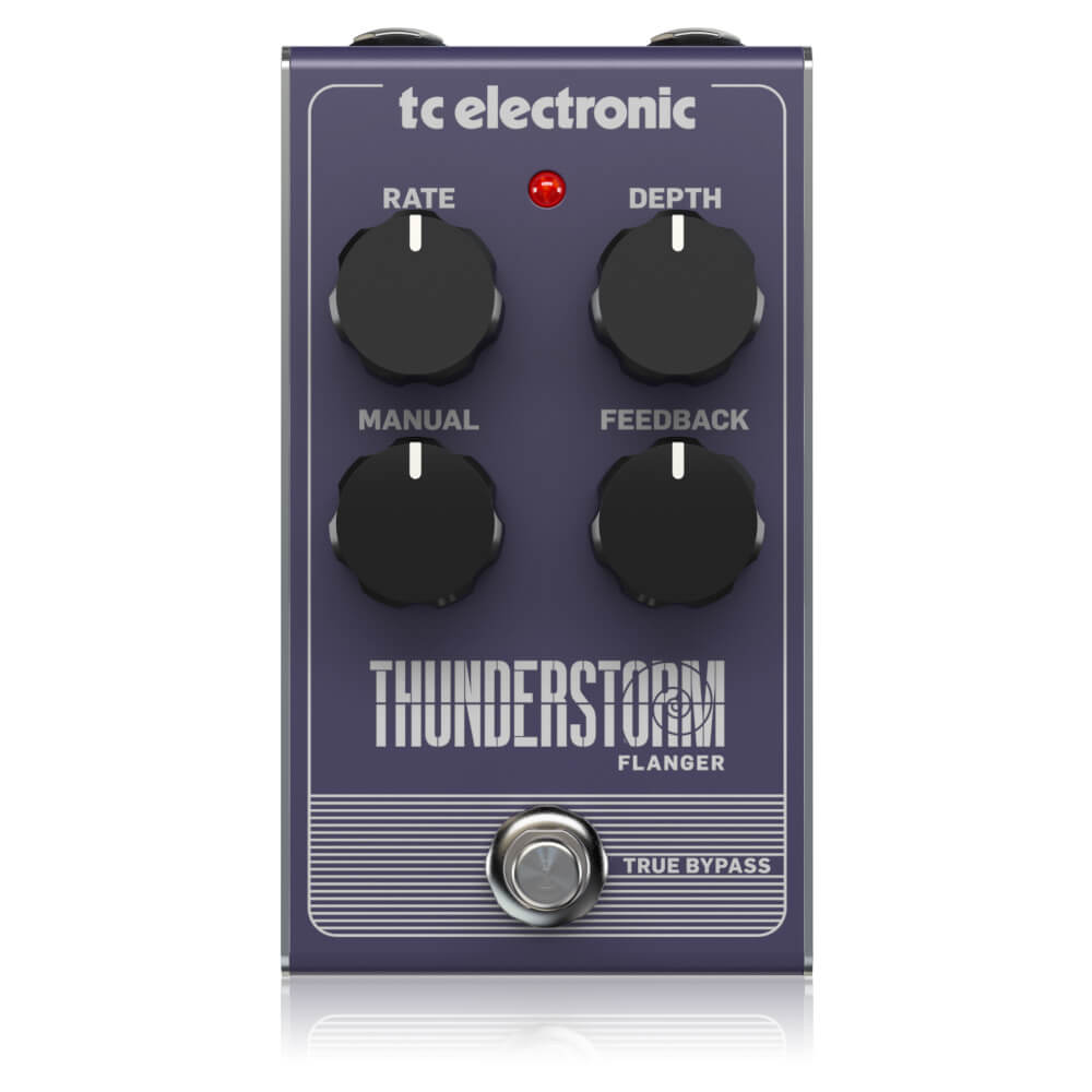 tc electronic <br>THUNDERSTORM FLANGER