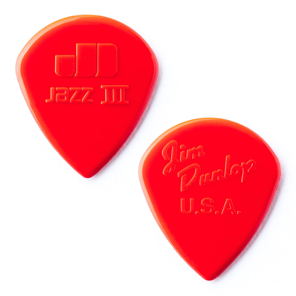 Jim Dunlop <br>47 Nylon Jazz III 1.38mm - RED 12枚セット