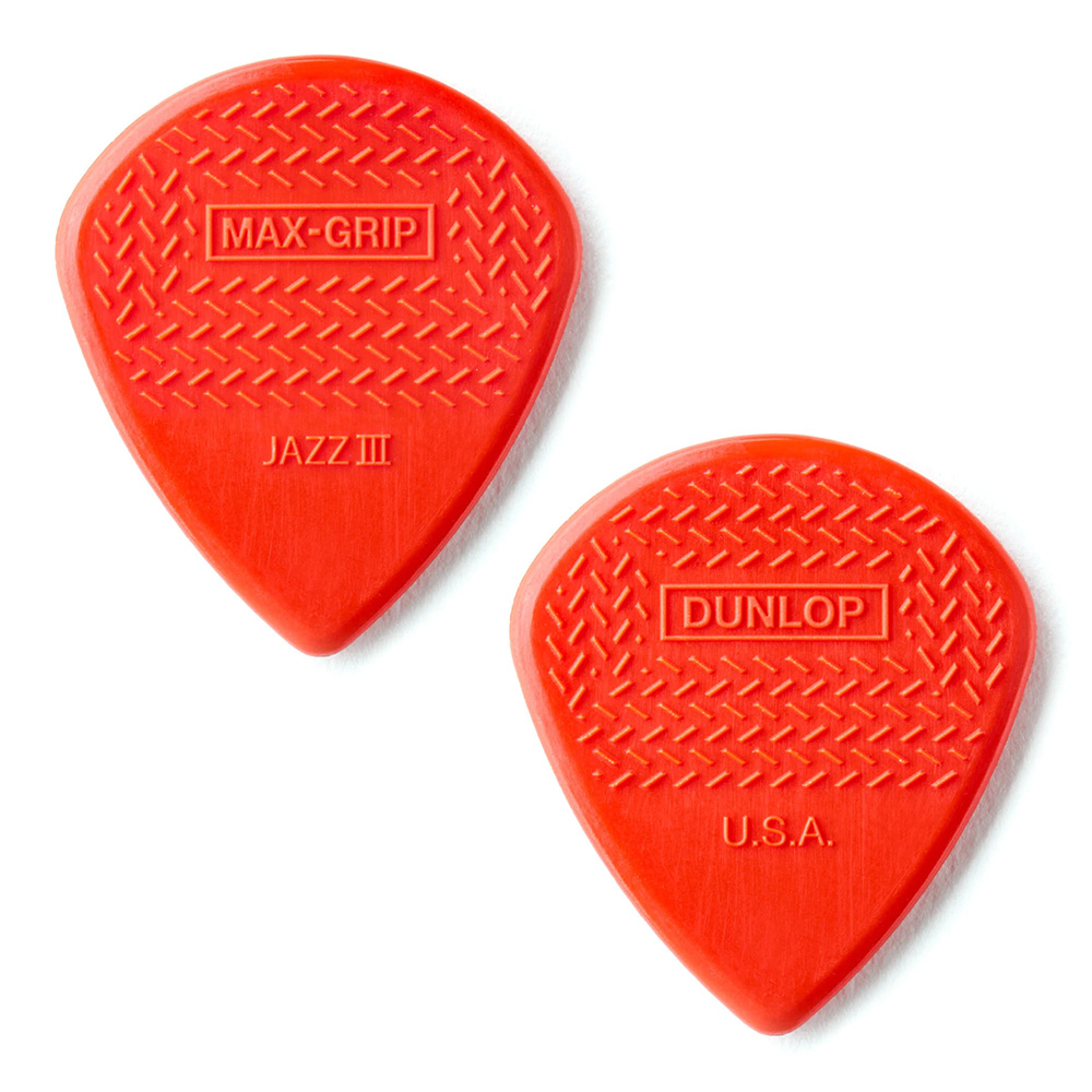 Jim Dunlop <br>471 Max-Grip Jazz III 1.38mm - RED 12枚セット